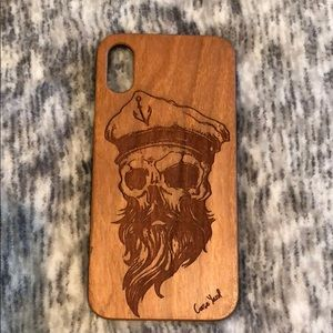 Gently Worn Case Yard iPhone X Case